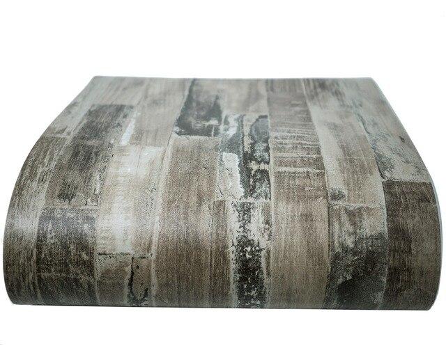 Vintage wood vinyl waterproof kitchen bathroom self adhesive