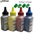 4 x Заправка тонер чипованного картриджа порошок Комплект для Kyocera M5521cdw P5021cdw P5021cdn M5521 P5021 принтер TK-5230 TK5230 TK 5230 EUR