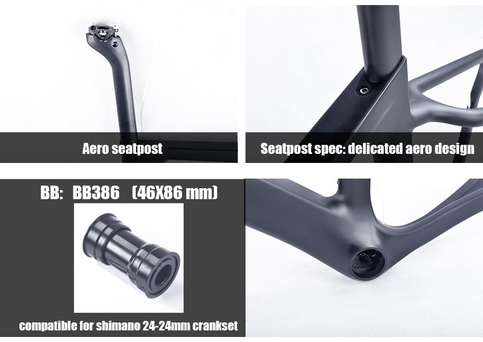 HTB1rimGKf5TBuNjSspcq6znGFXaQ - 2018 New Cyclocross Frame Aero Road or Gravel Bike Frame S/M/L size Disc Bike Carbon frameset QR or thru axle