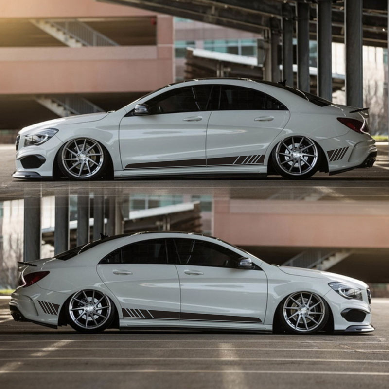 TAIYAO car styling sport car sticker For <font><b>Mercedes</b></font>-Benz CLA <font><b>180</b></font> 200 220 4MATIC car accessories and decals auto sticker image