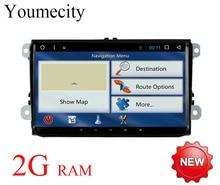 Octa-core Android 7.1 für Volkswagen VW GPS Radio Passat B5 B6 B7 polo touran Golf 5 6 Caddy JETTA TIGUAN headunit DVD player