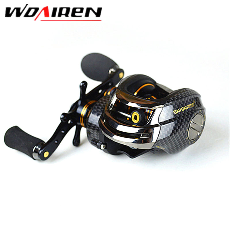 18BB+1 Ball Water Drop Wheel Bearings double Brake Baitcasting Reel  Fishing Gear  Right/Left Hand Bait Casting  Fishing wheel free shipping by ems fishing reels baitcasting reel daiwa megaforce ths gear ratio 7 3 1 six ball bearings right