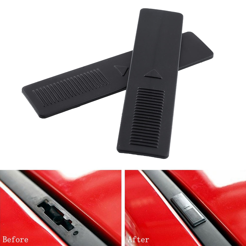 2x Roof Rack Clip Rail Moulding Dustproof Cover Cap For Mazda 2 3 6 CX9 ...