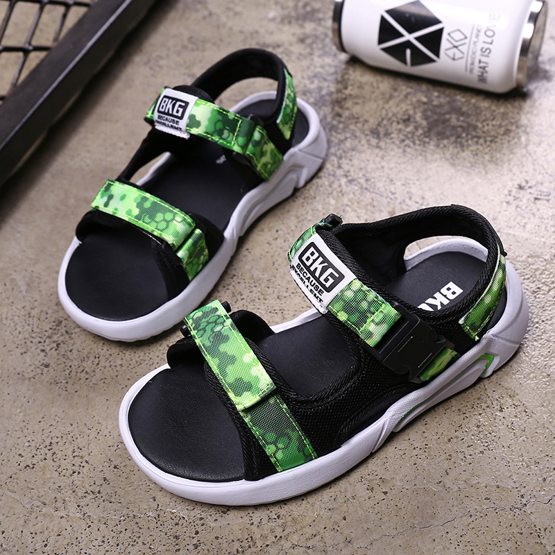 Aggressiv Pinsen 2019 Neue Jungen Sandalen Kinder Sommer Turnschuhe Kinder Schuhe Infantil Jungen Strand Sandalen Casual Mode Weiche Flache Schuhe