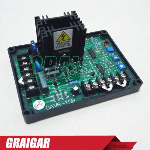 ФОТО 5PCS/LOT Alternator AVR Regulator GAVR-15B For Brushless Generator GAVR15B