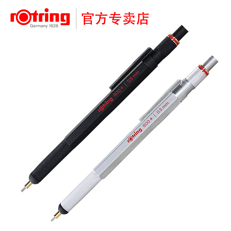 TOP Germany Rotring 800+ Mechanical Pencil 0.5 PDA Capacitive Pen germany rotring 300 mechanical pencil 0 5 0 7 2 0 mm plastic mechanical pencil top quality 1pcs