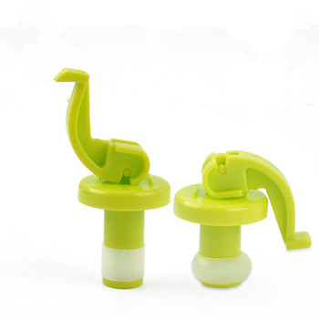Novelty Silicone Wine Bottle Stoppers 1