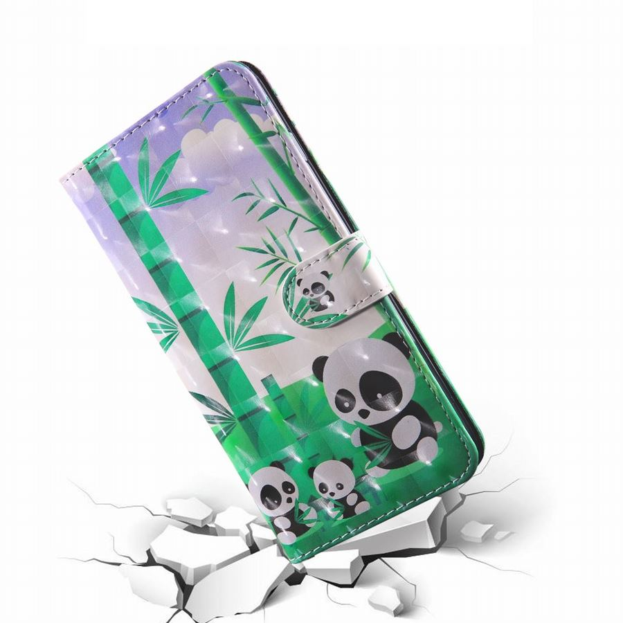 2019 Latest Design For Frame Sony X Peria 1 10 Plus Xa3 Ultra L1 L2 L3 Xz4 Book Capa Bamboo Panda Cases Colorful 3d Pattern Coque Card Slot E29z Sturdy Construction Cellphones & Telecommunications