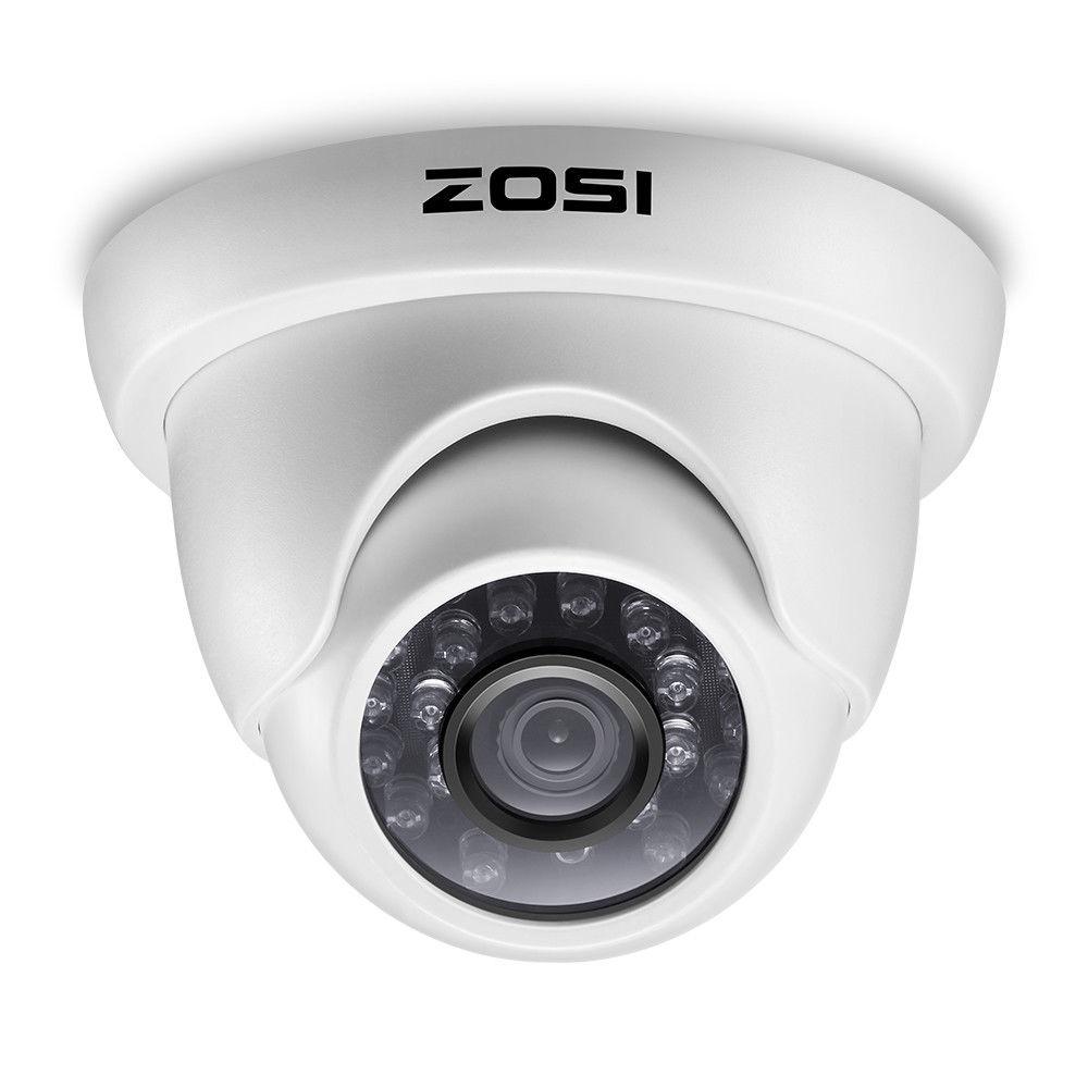 ZOSI 1080 P HD-TVI 2.0MP Dome CCTV Sistema de Câmera de Segurança Em Casa 65ft HD-TVI de Visão Noturna À Prova D' Água para 1080 P DVR sistemas