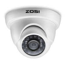 ZOSI 1080P HD TVI 2.0MP CCTV Dome Camera Home Security System 65ft Night Vision Waterproof for 1080P HD TVI DVR Systems
