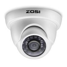 ZOSI 1080P HD TVI 2.0MP Della Cupola del CCTV Della Macchina Fotografica di Sicurezza Domestica Sistema di 65ft di Visione Notturna Impermeabile per 1080P HD TVI DVR sistemi di