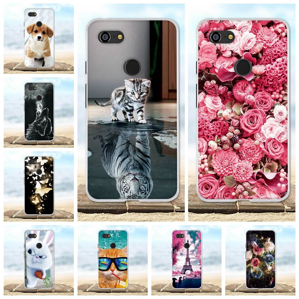 Fitted Cases Cellphones & Telecommunications Cute Toys Squishy Case For Google Pixel Funny Cat Cases For Google Pixel 5.0 Phone Bags Cover