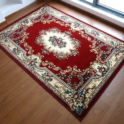 Clic Turkish Persian Area Rugs Luxury Muslim Prayer Rug Living Room Rustic Flower Coffee Table