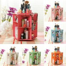 1Pc 360 Degree Rotation Rotating Makeup Organizer Cosmetic Display Brush Lipstick Storage Stand RP1-5