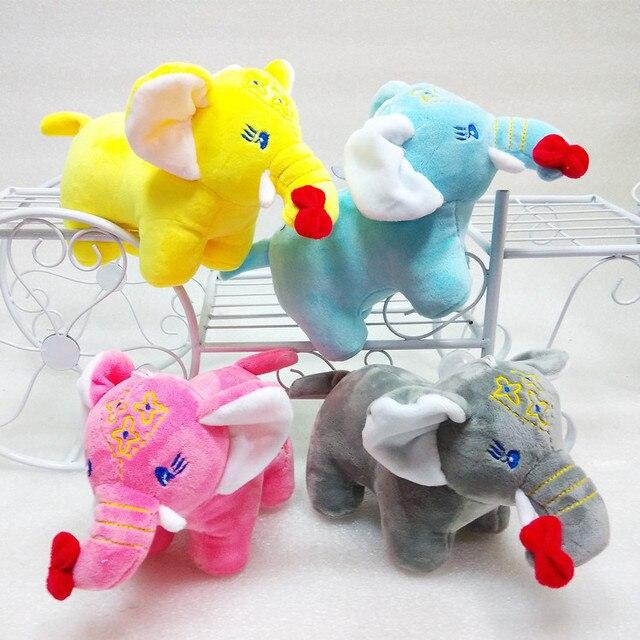 New Cute 1pc 20cm Size Elephant Plush Toys Christmas Gift Soft