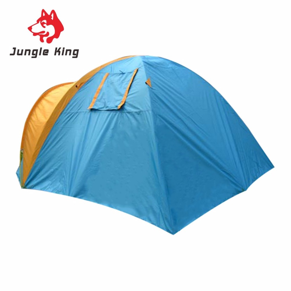 Jungle King CY-005 Ultra Light Windproof Waterproof Polyester Tent Breathable Outdoor Camping Fishing Beach Tent 3in1 helmet arm kit curved mount 3m pad for gopro hero 3 3 2 1 sj4000