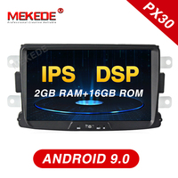MEKEDE IPS DSP Car Multimedia player Android 9 Automotivo car radio stereo For Dacia/Sandero/Duster/Captur/Lada/Xray 2/Logan 2
