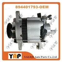 NEW Auto alternator FOR FIT ISUZU PICKUP 4JB1 2.8L L4 (DIESEL)12V 60A 894401793 8 94401 793 1993 2010