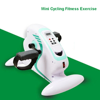 YL 10408 Главная Спорт бесшумный мини ноги Фитнес тренажеры бытовой Похудение Indoor Велоспорт велосипед