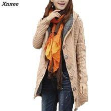 Spring/Autumn New Cardigan Coat 2018 Women long section twist cardigan sweater coat Korean version thick warm 4 colors