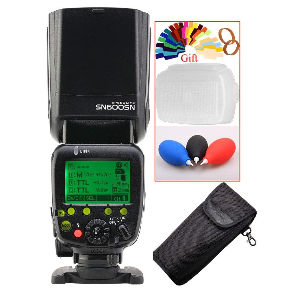 SHANNY SN600N i-TTL HSS 1/8000s Flash Speedlite for Nikon D810A D810 D800E D800 D700 D500 D5 D4 D3 D4S D4X D3X D90 D3300 D3200 godox mini speedlite tt350n camera flash ttl hss 2x 2500mah battery for nikon d810a d810 d800 d750 d700 d610 d300 d5 d4 d3 d2
