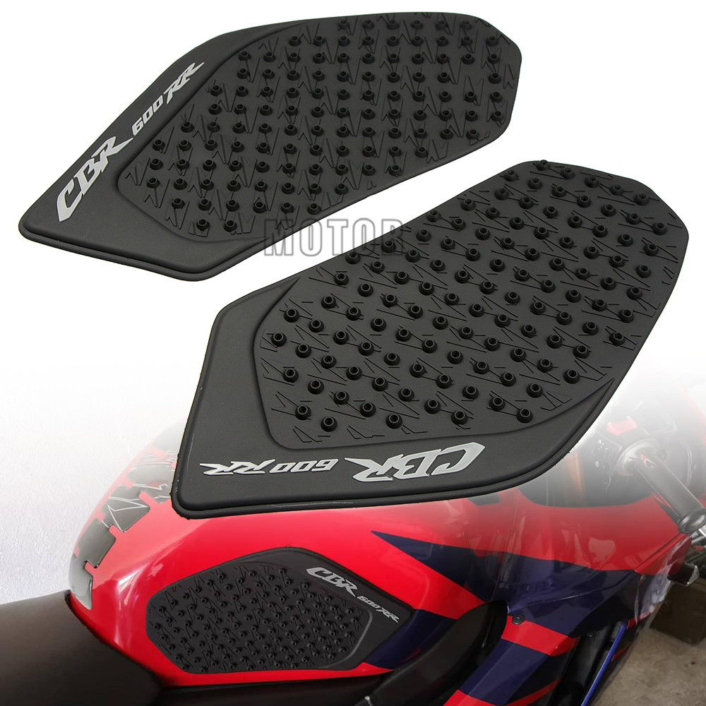 Motorcycle Accessories & Parts For Honda Cbr600rr 2003 2004 2005 2006 Cbr 600rr 600 Rr Motorcycle Oil Fuel Tank Traction Pad Protector Knee Side Decal Sticker Motorbike Accessories
