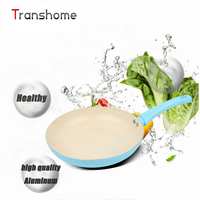 Non Stick Copper Frying Pan With Nanoscale Ceramic Coating And Induction Cooking Oven Dishwasher Safe Ceramica
