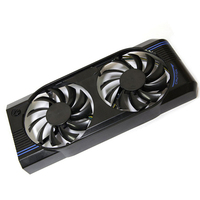 PLD08010S12HH DC 12V 0 35A 4pin Dual 75MM Fan Cooler For Graphics Cards MSI N460GTX N560GTX