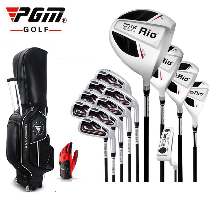 Brand PGM men Full / half / mini / complete golf clubs set with bag mens golf clubs irons golf clubs branded golf irons set golf putting mat mini golf putting trainer with automatic ball return indoor artificial grass carpet
