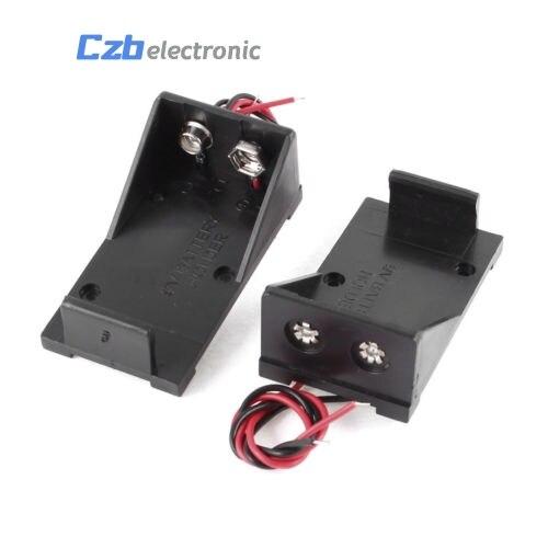 9 В KEYES Батарея держатель Box Дело Провода с вилкой 5.5&#215;2.1 мм для <font><b>Arduino</b></font> New SP30