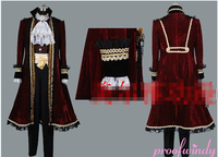 APH Hetalia Axis Powers Spain Pirate Cosplay Costume Full Set Custom Made Any Size Free Shipping NEW
