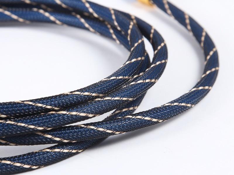 OD6.0mm Alta calidad Azul Digital Óptica óptica Fibra Toslink Audio - Cables de computadora y conectores - foto 5