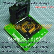 Опт(78870) программист адаптер TQFP128 QFP128 IC51-1284-1433 адаптер/гнездо IC/ИК тест гнездо