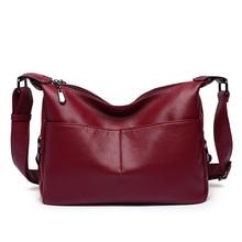 Accent Retro Sling Leather Corssbody Bag Tote For Women Medium Shoulder Purse Hobo Handbag