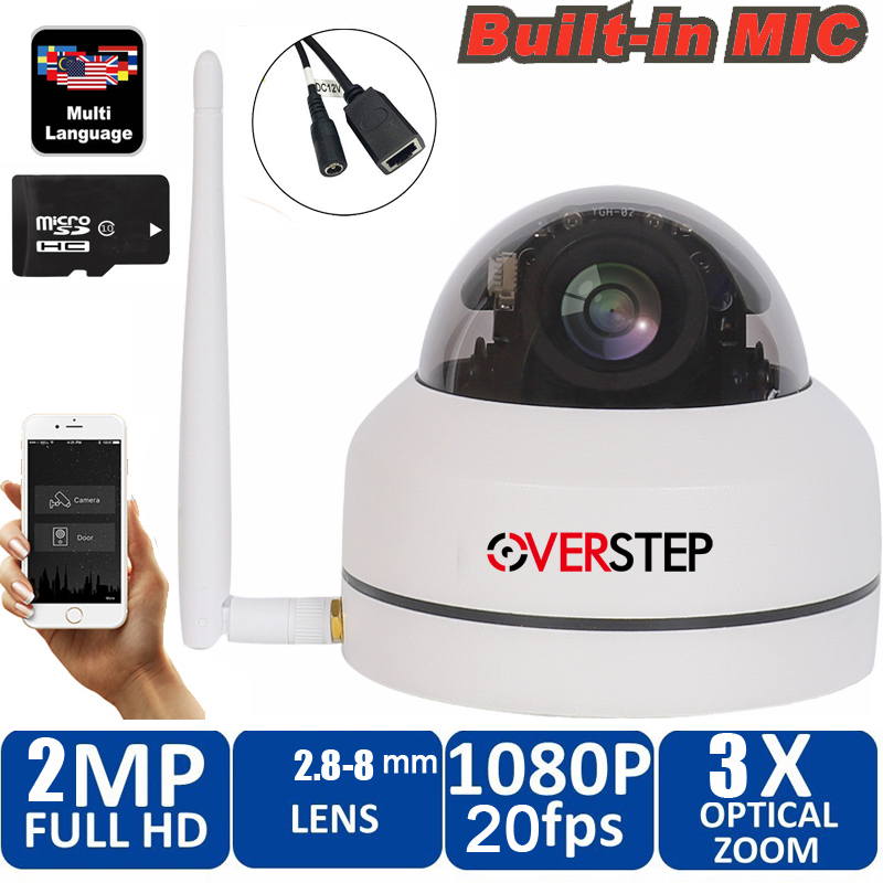 Security PTZ Cameras Dome Pan/Tilt/Zoom 3X Camera Wifi Outdoor Network Wireless 1080P P2P Mini Wi-fi Camera with micphone Security PTZ Cameras Dome Pan/Tilt/Zoom 3X Camera Wifi Outdoor Network Wireless 1080P P2P Mini Wi-fi Camera with micphone