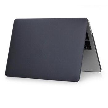 Матовый черный чехол для ноутбука Macbook Air Pro Retina 11 12 13 15, полный комплект, Жесткий Чехол для нового Macbook Air 13 2018, чехол, оболочка