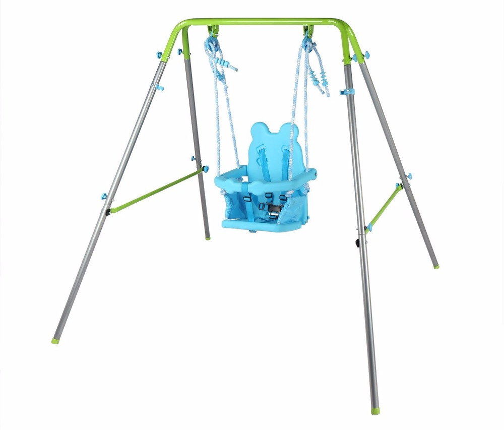 HLC Outdoor Indoor Folding Swing Toddler Swing with safety Baby Seat and Carry Case cd диск perahia murray mozart w a the piano concertos 12 cd