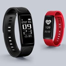 C7s Health Dynamic Heart Rate Blood Pressure Monitoring font b Smart b font Bracelet Waterproof ip67