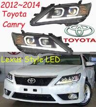 Camry headlight,2012~2014,Free ship! Camry fog light,2ps/set+2pcs Ballast,Camry driver light,Camry