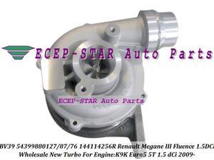 BV39 54399700127 54399700087 54399700076 144114256R turbo turbocharger for Renault Megane III Fluence 1.5L DCI K9K Euro5 5T 09-