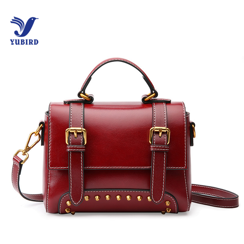 YUBIRD Crossbody Bags For Women Messenger Bags 2018 Vintage Leather Bags Handbags Women Famous Brand Rivet Small Shoulder Sac vintage pu leather bags crossbody bags for women messenger bags handbags women famous brand rivet belt buckle small shoulder sac