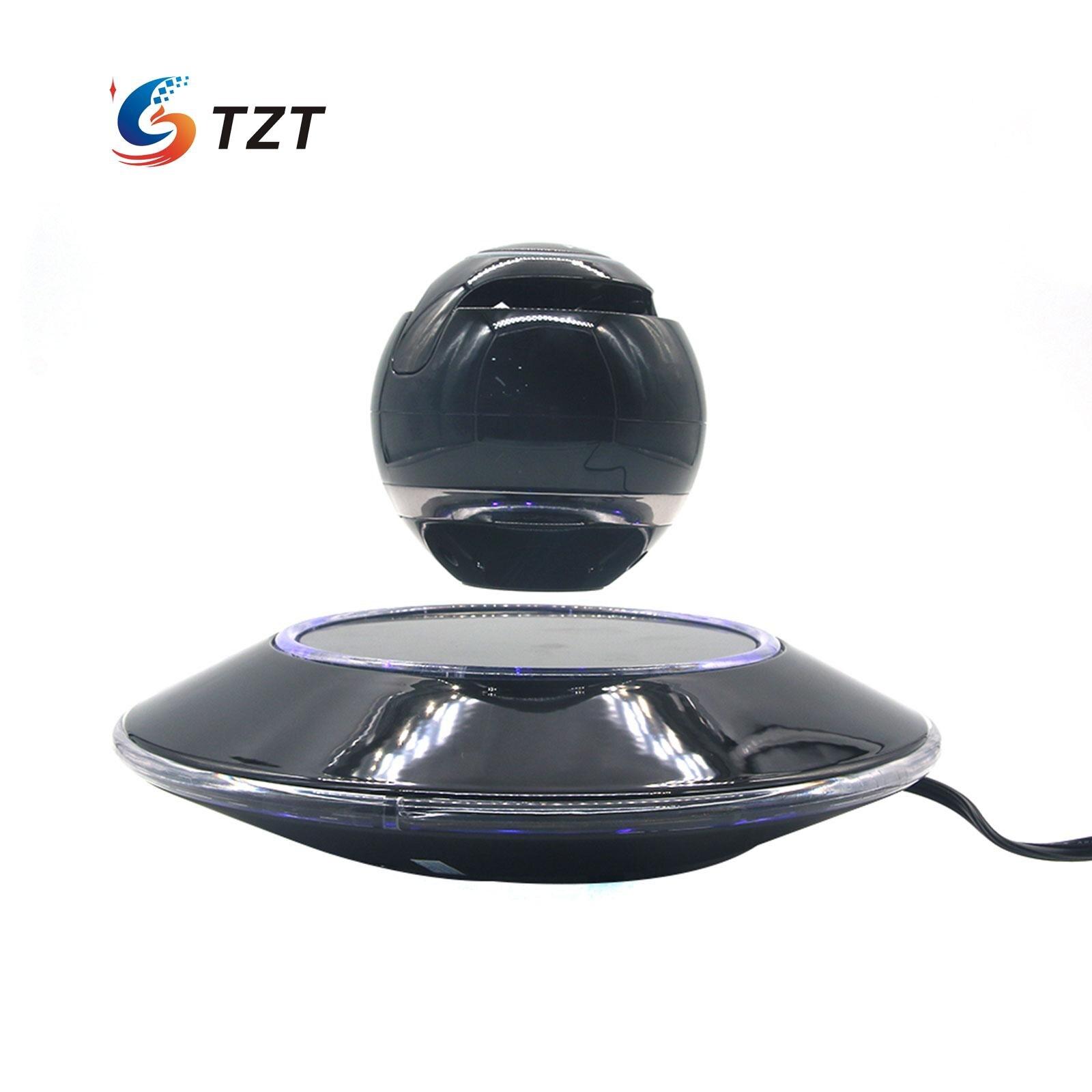 ФОТО Wireless Speaker Bluetooth Floating Magnetic Levitating Speaker LED for Christmas Gift