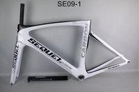 Carbon Road Frame T1000 Frame Fork Seatpost Clamp Headset Carbon Bike Frames China PF30 700C Cadre