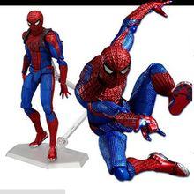 marvel 15cm Justice league spider man PVC Action Figure Marvel Ultimate Spider man dolls kids toys Original box Brinquedos gift