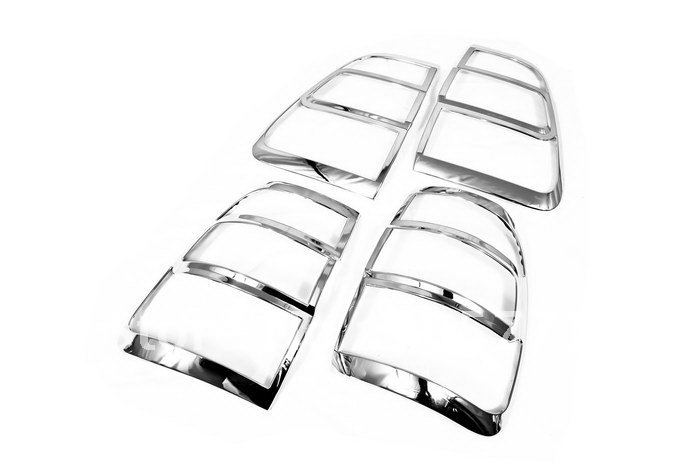 High Quality Chrome Tail Light Cover for Toyota Land