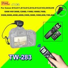 Pixel TW283 TW-283 E3 Minuterie Télécommande Sans Fil pour Canon 700D 600D 100D 550D 1200D 1100D 750D 650D 60D 70D Déclencheur