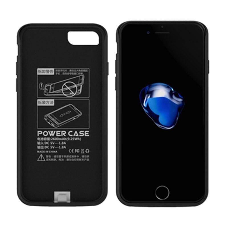 imágenes para GagaKing 5200 mAh banco de la energía del cargador de batería para el iphone 7 caso de Reserva Portable de la energía Externa para el iphone 7 Ultra-delgado