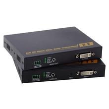 PW-THF109D без потерь несжатого DVI оптического трансивера HDMI к волоконно-оптический удлинитель трансивер класс 10 км независимых аудио