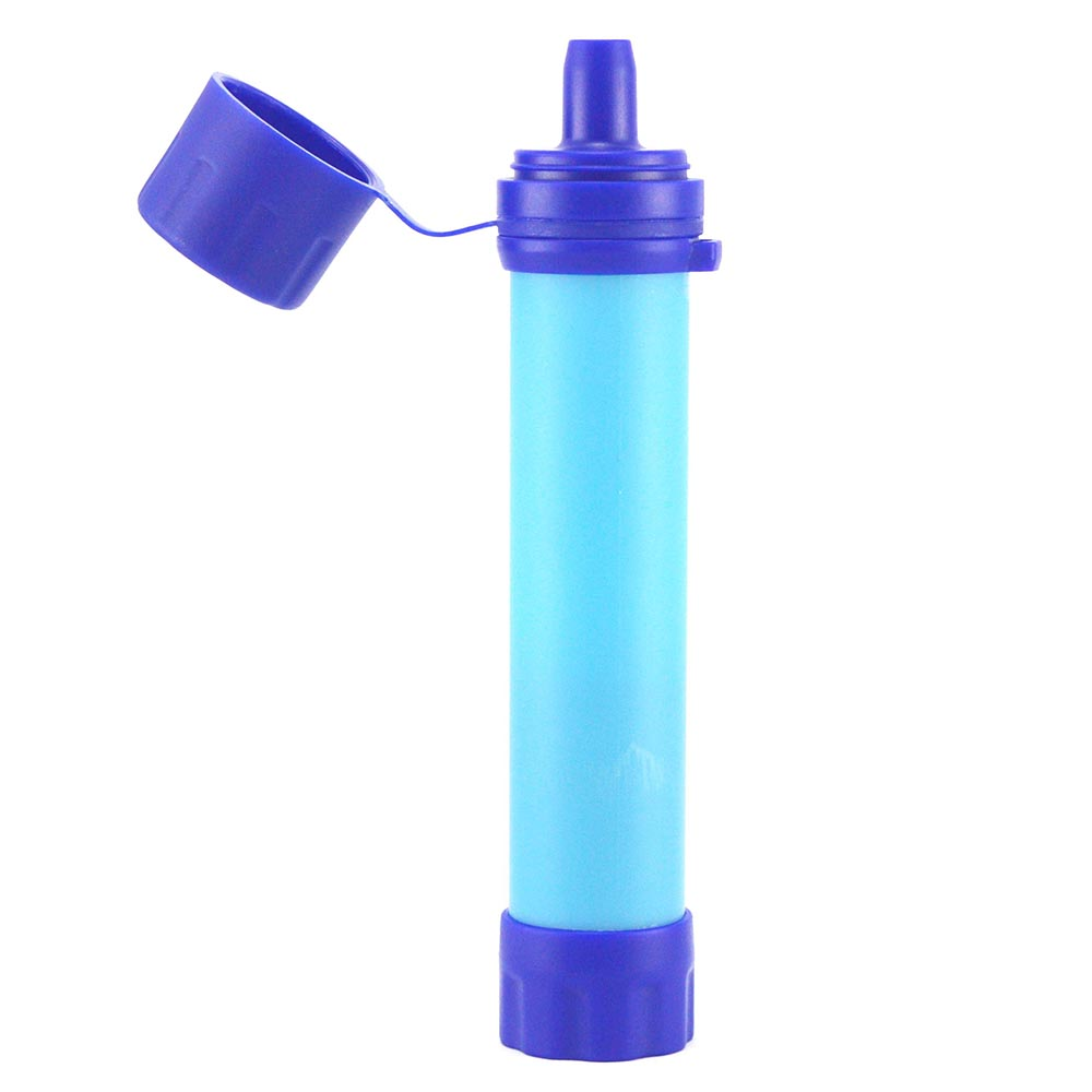 Outdoor Water Purifier Emergency Life Survival Water Filter Straw Water Filtration System Camping Traveling Backpacking