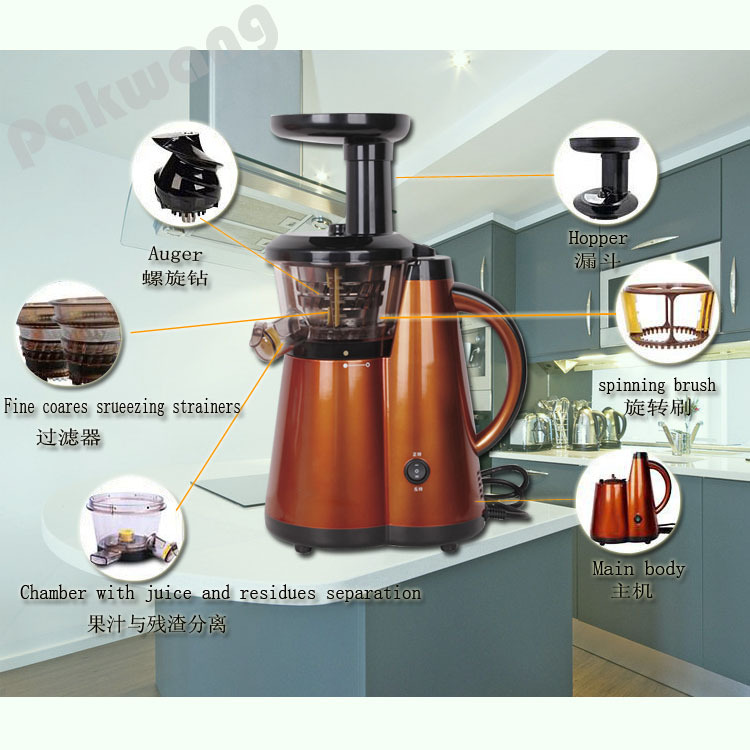 2016 Great Quality Slow Juicer for Home or Office, Fruit and Vegetable Juicer, Cheap Blender Good Quality Juice Machine good quality luo han guo extractsiraitia grosvenorii extractmonk fruit sweetener 10 1 600g